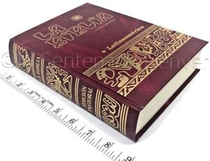 16e8b5dadfc BIBLIA LATINOAMERICA Letra Grande Español Latinoamericana Catolica -  ROJA Guinda