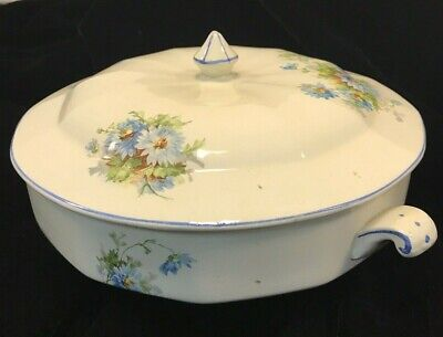 Victorian Vegetable Dish with Lid