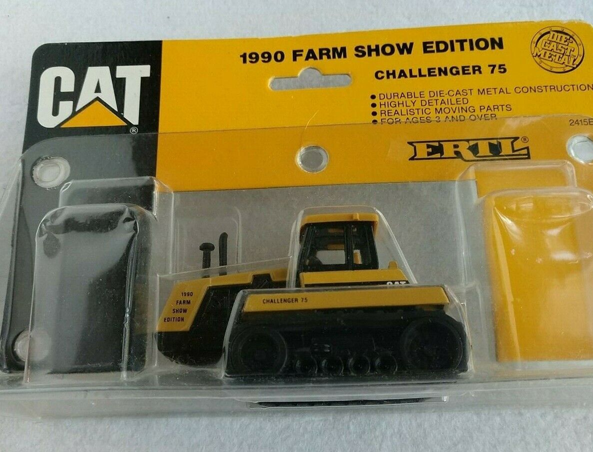 CAT Challenger 65 Tractor 1989 FARM SHOW EDITION Ertl  NEW IN PACKAGE