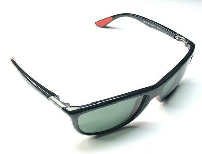 Ray Ban Italy K RB 8351-M F601/71 60[]17 140 3N Ferrari Black Sunglasses 21D