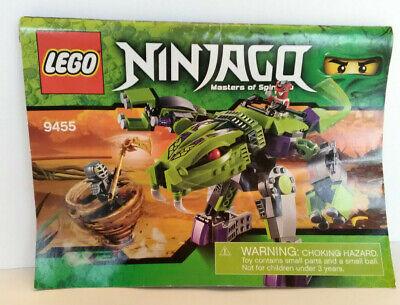 Lego Ninjago Masters of Spinjitzu Fangpyre Mech  Used No Box 9455
