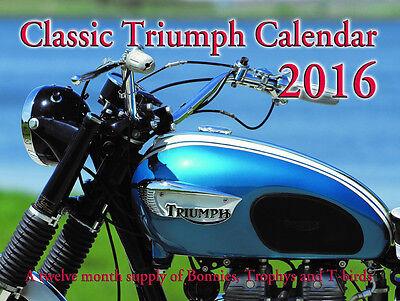 2016 Classic Triumph Calendar - NEW!!!
