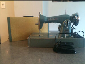 Vintage Lasalle Sewing Machine