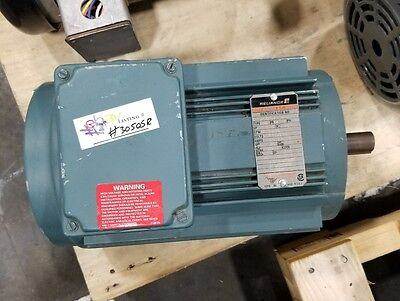 Reliance 2hp P14a5705m-wu Electric Motor 3 Phase 3050sr