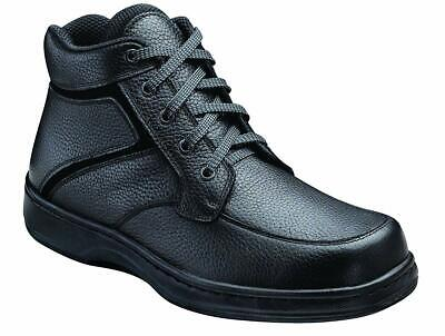 Orthofeet Highline Men's Black High Top Boots NW/OB