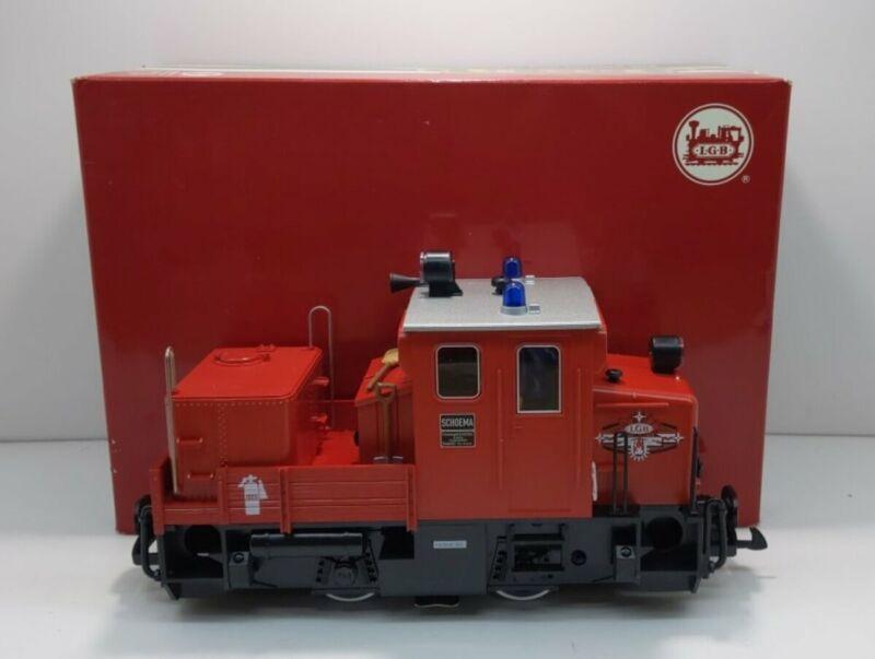 LGB 22330 Schoema Red Diesel Switcher EX/Box