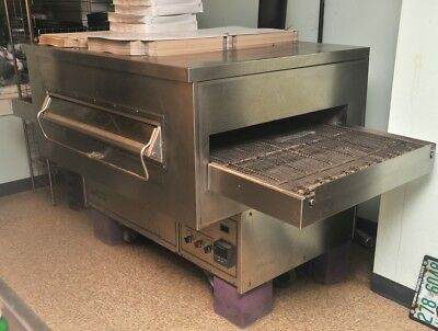 Middleby Marshall Ps360s Pizza Oven Set Up For Propane Works Great