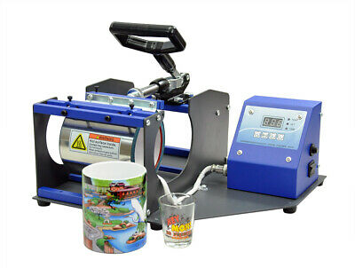 2 In 1 Mug Heat Press Sublimation Transfer Shot Glass Coffee Mug