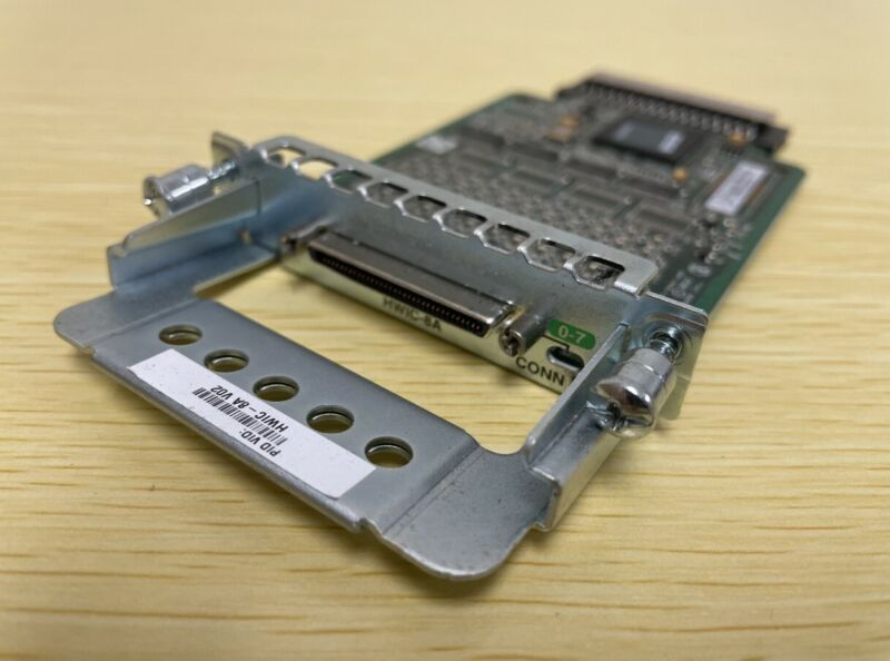 Cisco 8-Port High-Speed WAN Interface Card HWIC-8A 73-13319-01