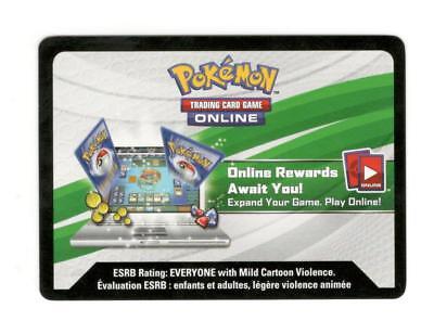 Pokemon Evolution Celebration Tin - Leafeon GX PTCGO Online Code SHIPPED