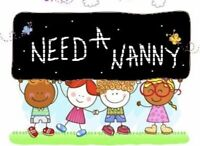 In need of a nanny 1 day a week