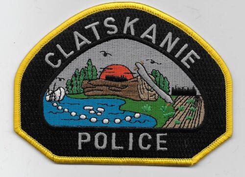 Colorful Clatskanie Police State Oregon OR