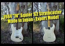 Fender Stratocaster JV Squier '62 (white) - MIJ Clayfield Brisbane North East Preview