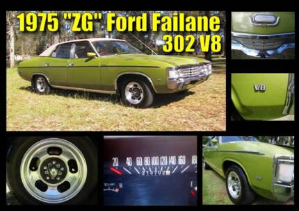 Ford Fairlane ZG - 1975 - 302 V8 auto - (214000 original km) Clayfield Brisbane North East Preview