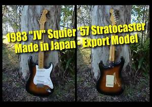 Fender Stratocaster JV Squier '57 - Made in Japan (2 tone 'burst) Clayfield Brisbane North East Preview