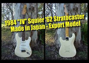 Fender Stratocaster JV Squier '62 (white) - MIJ Clayfield Brisbane North East Preview