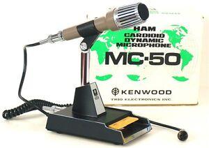 kenwood mc 50 fancy desk microphone w round 4 pin. Black Bedroom Furniture Sets. Home Design Ideas