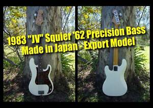 Fender Precision Bass JV Squier '62 (white) - MIJ - Export model Clayfield Brisbane North East Preview