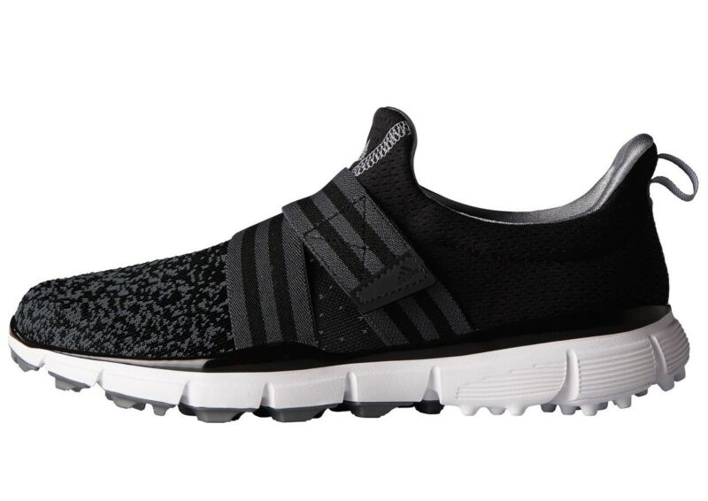 reputable site 7624f 98938 Details about NEW WOMEN'S ADIDAS CLIMACOOL KNIT GOLF SHOES BLACK/GREY  F33548 - PICK A SIZE