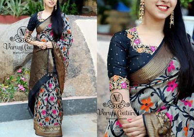 Indian Designer Party Wear Saree Pakistani Bollywood Wedding Lehenga Sari BSR