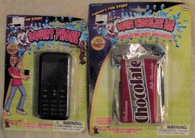Squirt Squirting Chocolate and Cell Phone Set Joke Gag Prank Toy - Jokes And Gags Toys