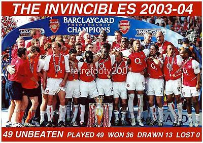 Arsenal FC 2003-04 The Invincibles Unbeaten Season