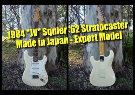 Fender Stratocaster JV Squier '62 (white) - MIJ