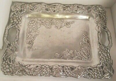 GRAPE CLUTCH SERVING TRAY ARTHUR COURT 1995
