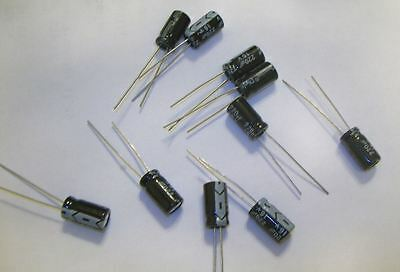 220 Uf Electrolytic Capacitors 16v Lot Of 10 Usa Seller