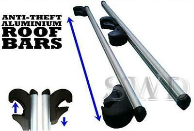Suzuki jimny strong aluminium anti theft Car Roof Rack Rail cross Bars Lockable