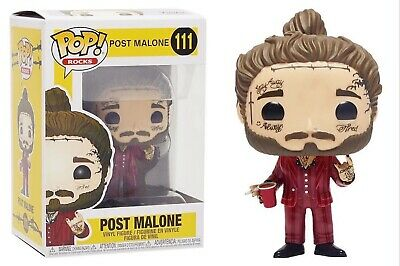 Funko Pop Rocks: Post Malone - Post Malone Vinyl Figure #39181