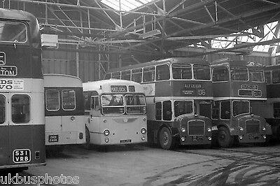 Midland General Alfreton Depot 1973 Bus Photo