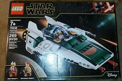 Lego Star Wars Resistance A-Wing Starfighter 75248 269 Pieces