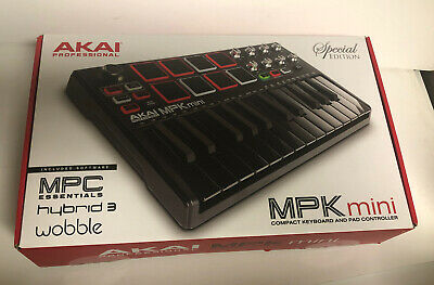 Akai Professional Special Edition MPK Mini Keyboard Pad Synthesizer In Box