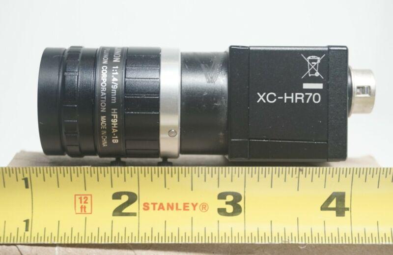 Sony XC-HR70,B&W,1/3 Scan CCD, Fujinon9mm f1.4 Lens