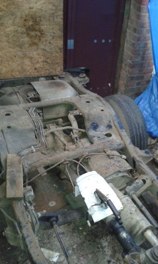 vauxhall frontera rolling chassis rebody hotrod etc