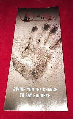 Rare 2014 HBO Leftovers promo mock brochure