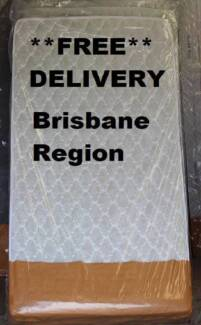 DELIVERED **FREE** Pillow Top Mattress - NEW!! King Single Size New Farm Brisbane North East Preview