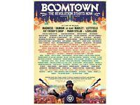 Boomtown ticket