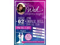 Please donate anything you can or come along to our charity evening.