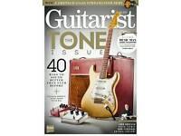 36 Guitarist magazines