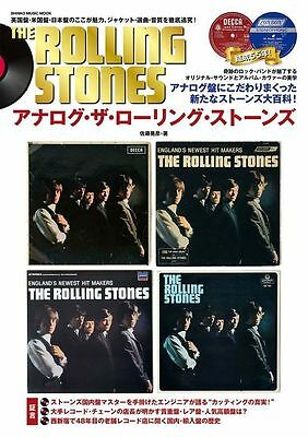ANALOG THE ROLLING STONES Vinyl Record Guide JAPAN SPECIAL BOOK MOOK 2016 NEW 00