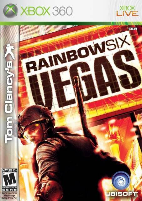 XBOX 360 Tom Clancy's Rainbow Six Vegas Video Game Multiplayer Online 1080p HD 6