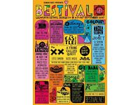 Bestival ticket 2017 with camping