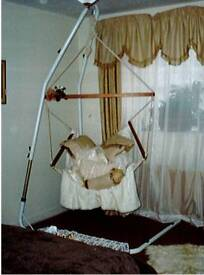 Hammock chair and frame