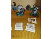 Skylanders Giants XL Figures Crusher & Thumpback Characters As New Condition £3 Each