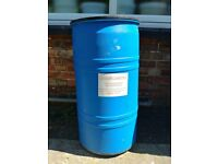 WATER BUTTS - SMALL OR LARGE PLASTIC BARRELS WITH LIDS - JUST NEED A TAP ATTACHED