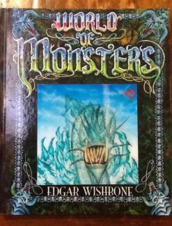 World of Monsters Book by Edgar Wishbone