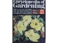 Vintage set of Marshall Cavendish Encyclopedia of Gardening Magazines