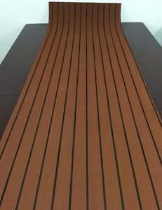 Synthetic Teak Boat Decking Sheets Carindale Brisbane South East Preview